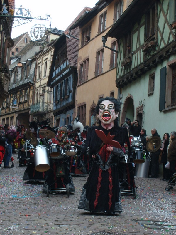 La carnaval de Riquewihr 2011 Photo Angele Lapp